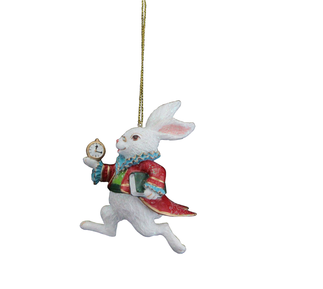 Alice in wonderland tree decorations gifts from handpicked for Christmas home decorations uk