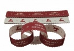 East of India Red Merry Christmas Paper Chains