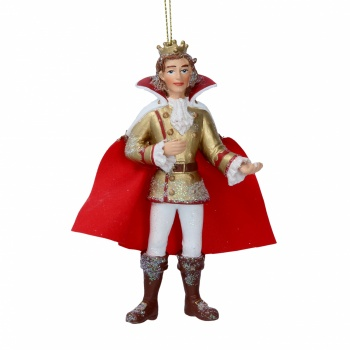 Gisela Graham Resin Prince Charming Christmas Decoration