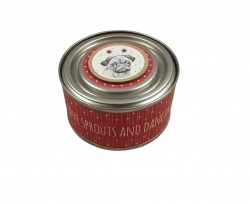 East of India Pug Candle - I Love Sprouts