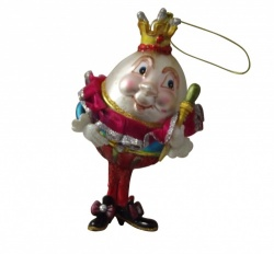 Gisela Graham Humpty Dumpty Christmas Tree Decoration