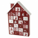Heaven Sends Wooden House Advent Calendar