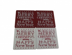 We Wish You A Merry Christmas Coasters