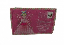 Gisela Graham Felt Christmas Fairy Purse