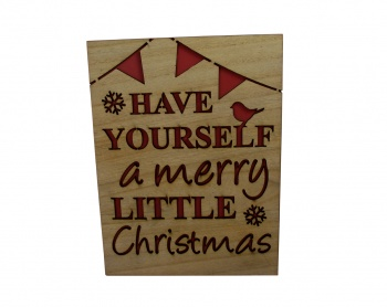 Have Yourself A Merry Little Christmas Sign