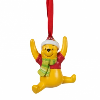 Widdop Gifts Resin Winnie The Pooh Christmas Decoration