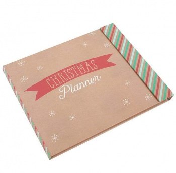Christmas Planner with Festive Tear Off Pages