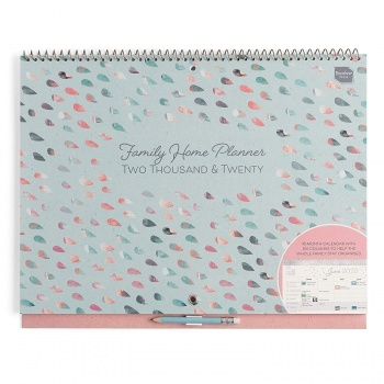 Boxclever Press Family Home Planner Calendar 2020
