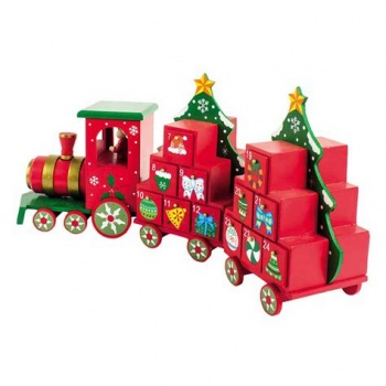 Heaven Sends Christmas Wooden Train Advent Calendar