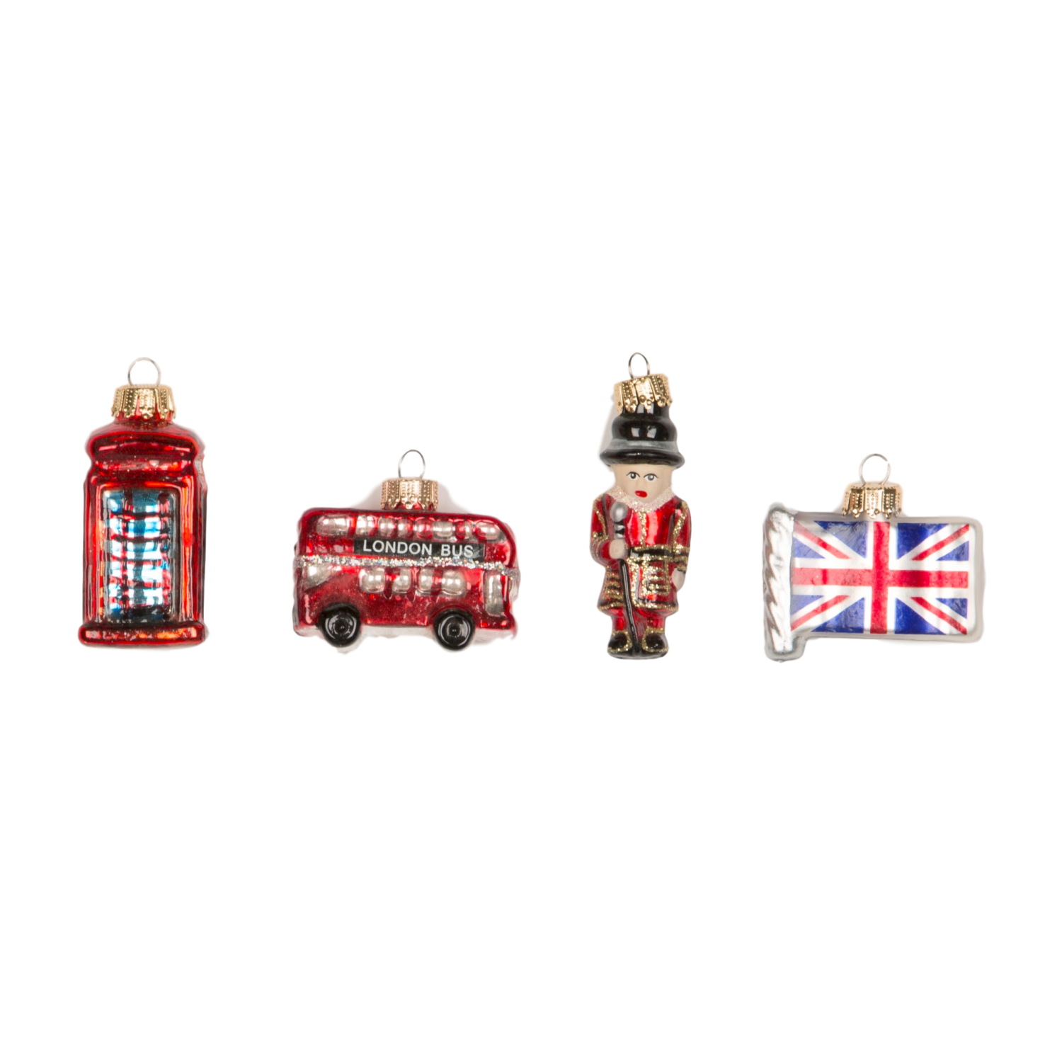 Where To Buy Christmas Decorations London: Sass And Belle London Set Of 4 Baubles