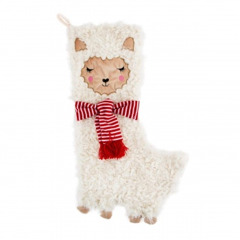 Sass & Belle Cute Llama Childrens Christmas Stocking