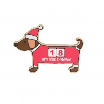 Sass & Belle Sausage Dog Countdown To Chistmas Advent Calendar