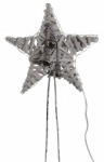 Tobs Led Pre-lit White Christmas Tree Star Topper Feature