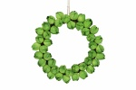 Gisela Graham Brussel Sprout Paper Twig Wreath