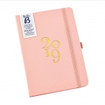 Busy B Ladies Pink Leatherette Perfect Planner Diary 2019