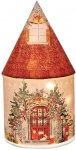 Splosh Gifts Santa's Workshop Fairy House Light Up Lantern