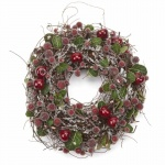 Heaven Sends Small Frosted Berry Christmas Wreath