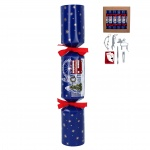 Gisela Graham Blue London Scene Christmas Crackers