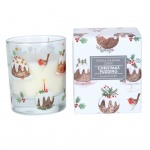 Gisela Graham Christmas Pudding Scented Candle