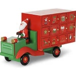 Gisela Graham Childrens Christmas Lorry Advent Calendar