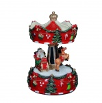 Gisela Graham Christmas Carousel Music Box