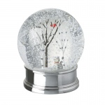 Heaven Sends Cat and Tree Christmas Snowglobe