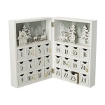 Heaven Sends Merry Christmas Wooden Book Advent Calendar