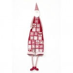 Heaven Sends Fabric Santa Christmas Advent Calendar
