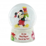 Disney Classic Mickey Mouse Christmas Snowglobe