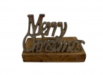 Sil Merry Christmas T-Light Holder