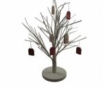 White Christmas Twig Tree Table Decoration