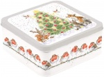 Wrendale Designs Country Set Christmas Tin