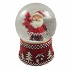 Gisela Graham Father Christmas Snowglobe