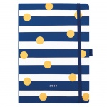 Busy B Polka Dot and Stripe Design Day a Page Diary 2020