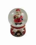 Gisela Graham Miniature Christmas Snow Globe Decoration