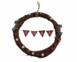 Gisela Graham Noel Twig Christmas Wreath
