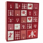 Heaven Sends Scandi Style Wooden Christmas Advent Calendar