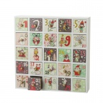 Heaven Sends Wooden Christmas Advent Calendar