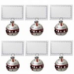 Heaven Sends 6 Snowmen Christmas Dining Table Place Holders
