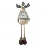 4ft Christmas Home Decoration Plush Large Standing Reindeer
