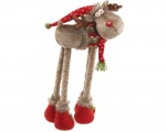 Christmas Home Decoration Plush Large Standing Reindeer