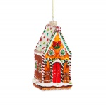 Sass & Belle Hanging Gingerbread House Christmas Decoration