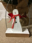 Shoeless Joe Snowman Decoration