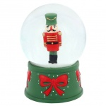 Christmas Nutcracker Snowglobe Home Decoration