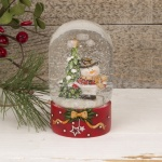 Cute Snowman Dome Shaped Snowglobe Decoration